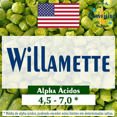 Lupulo Willamette (Barth Hass) Pellet T90 - 50g