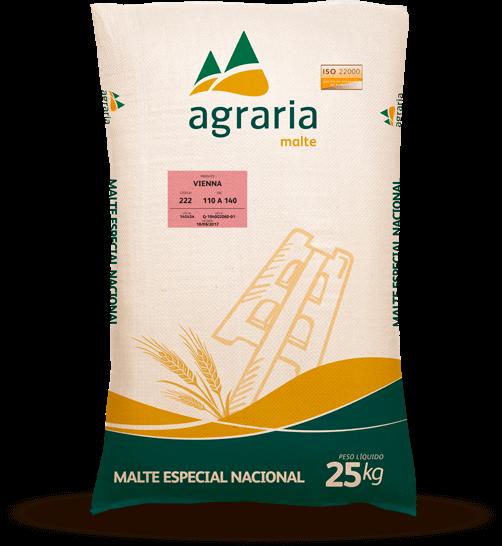 Malte Vienna Agraria (8 EBC) - Saca 25 kg