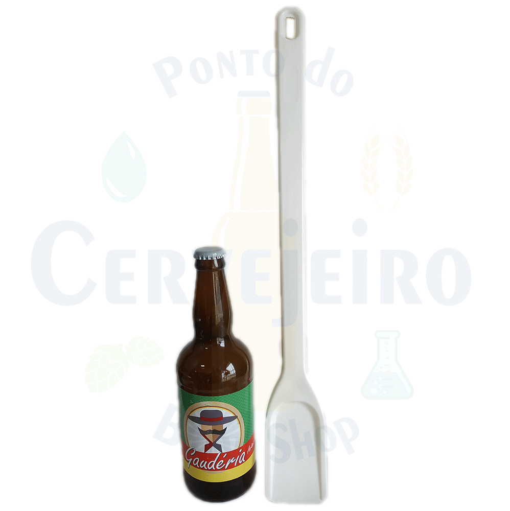 Pá cervejeira / Espátula Industrial / Colher Pequena (50 cm)