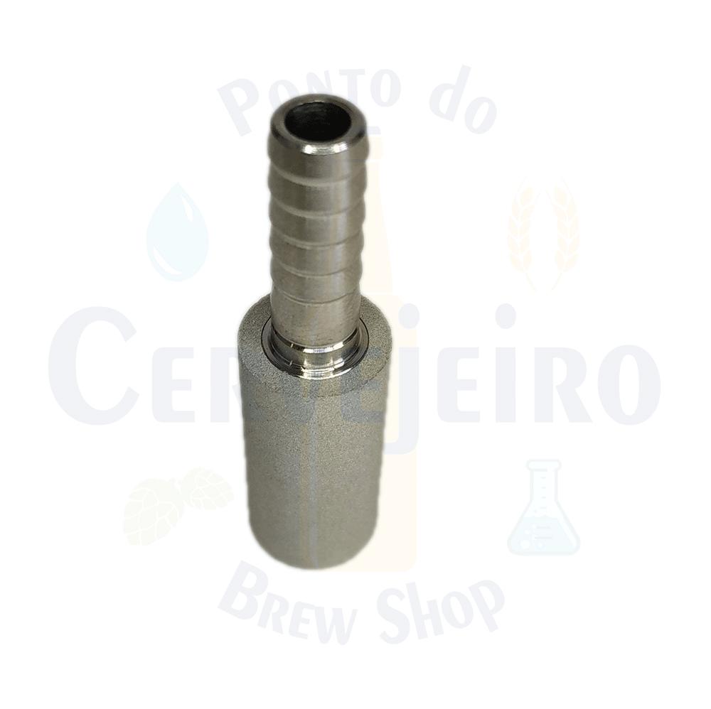 """Pedra difusora 2,0 micra - espigao 1/4"""""""