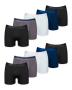 Kit com 10 Cuecas Boxer de Microfibra