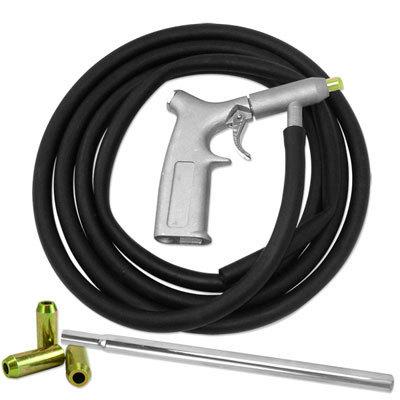 Pistola Jato de Areia - Com Tubo de Sução e 3 bicos Adicionais