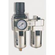 Filtro Regulador e Lubrificador 1/2´  FRL-13 - Chiaperini