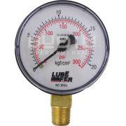 Manômetro Vertical para Ar Comprimido 60MM ( 0 -300 PSI ) Lubefer