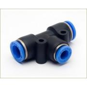 Conexão em T Push-In Mang. 6mm - Pneumática - TPE6