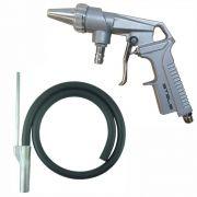 Pistola de Jato de Areia com Mangueira Pneumática Profissional