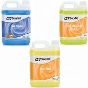 Kit Shampoo Det Mol + Solupan X4 + Cremecar