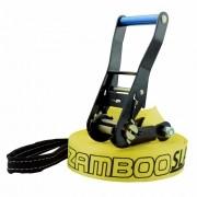 Slackline Zamboo Basic Black 20 Metros - Amarelo