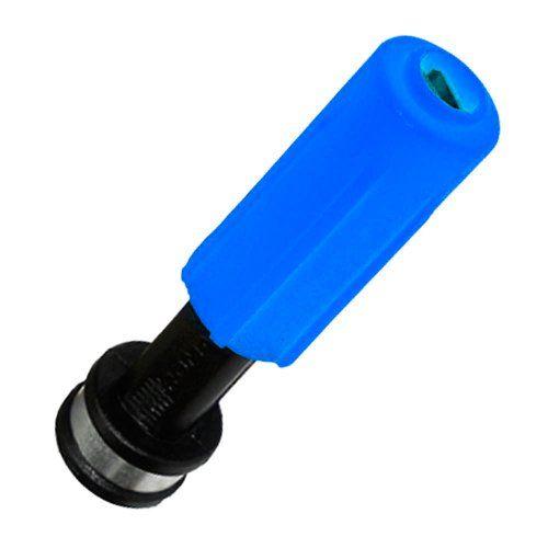 Bico Esguicho Regulável 4,6 mm Azul Lavadora Alta Pressão 1/2
