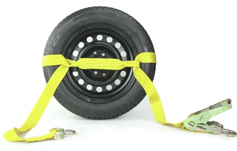 Cinta de Amarração de Veículos em Guinchos - Sem Argolas