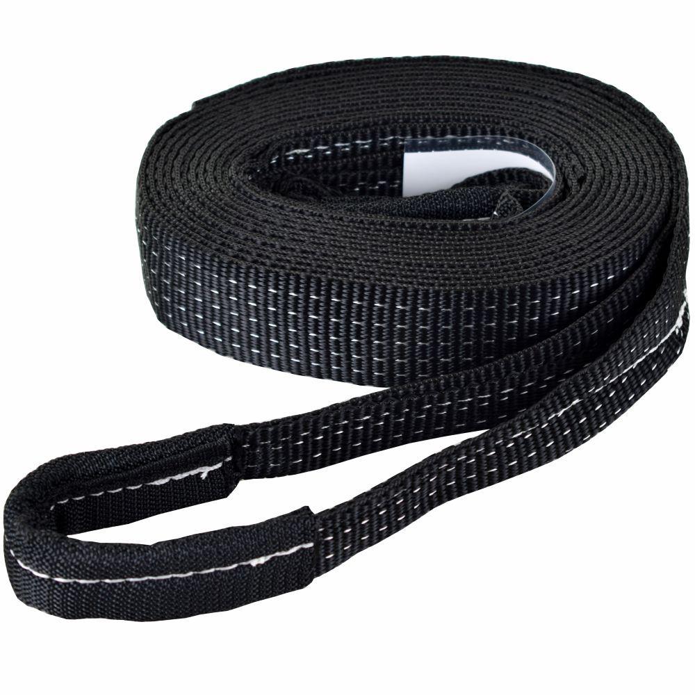 Cinta Fita para Reboque 5 ton x 3 mts Black Edition - 4x4 Off Road Trilhas