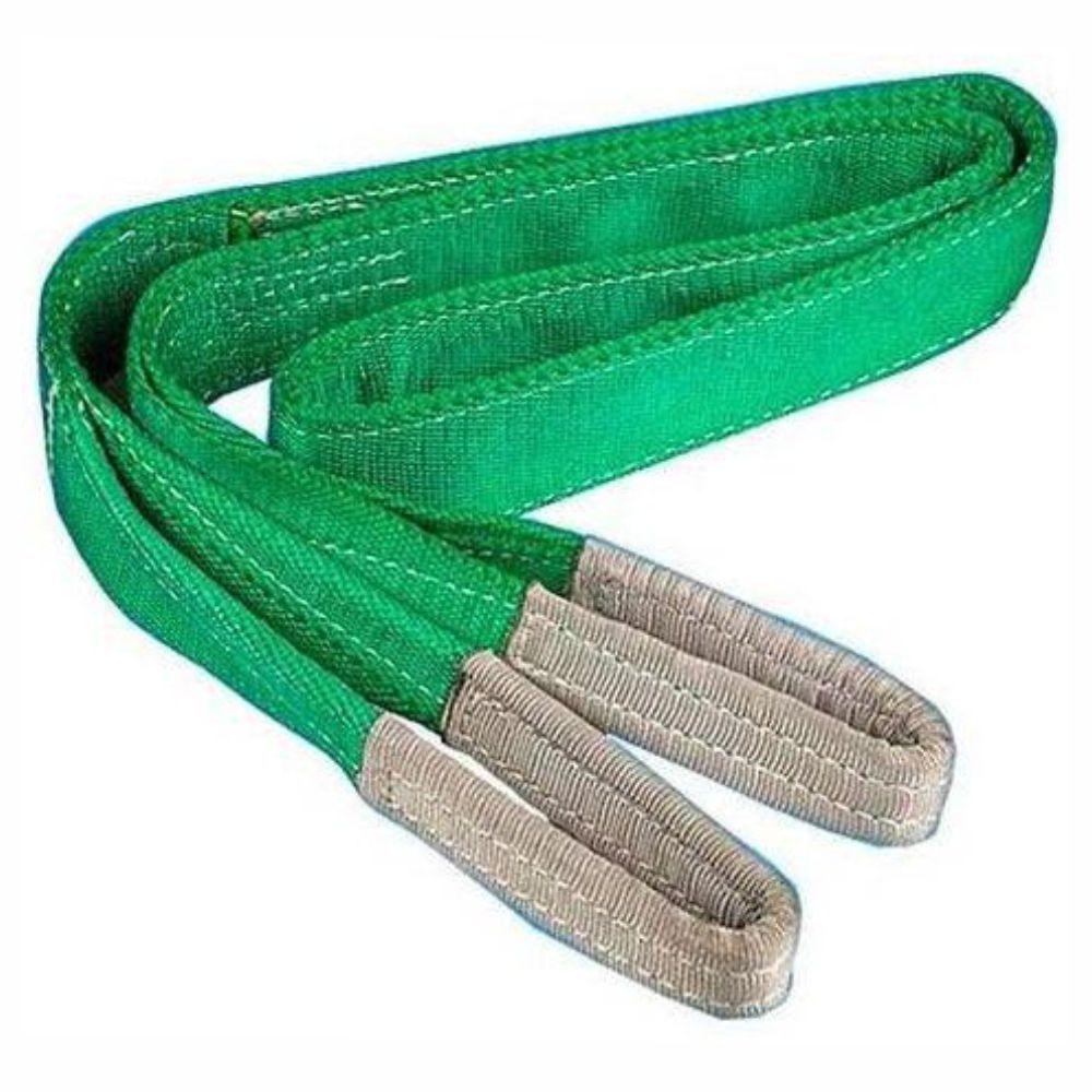 Cinta para Elevação de Carga 2 ton x 2 mts Fator Segurança 7:1 - 60mm Verde