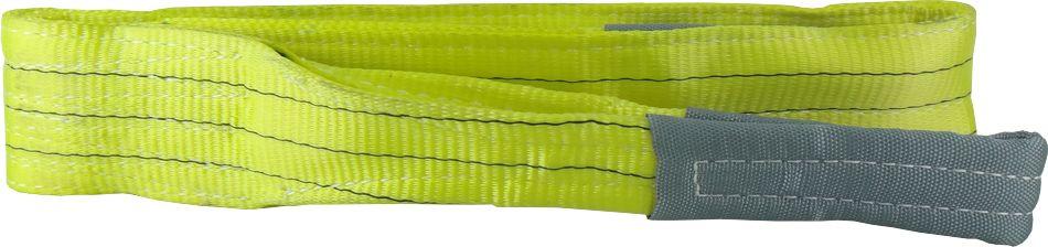 Cinta para Elevação de Carga 3 ton x 2 mts Fator Segurança 7:1 - 90mm Amarela