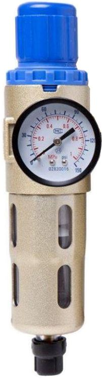 Filtro de Ar e Regulador de Pressão 1/4´ Com Protetor