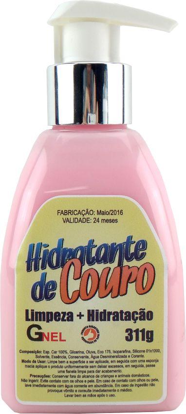 Hidratante de Couro Limpa, Revitaliza e Restaura 311g