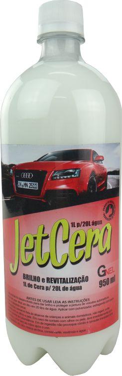 Cera Liquida Automotiva Concentrada Profissional - Jet Cera 950ml