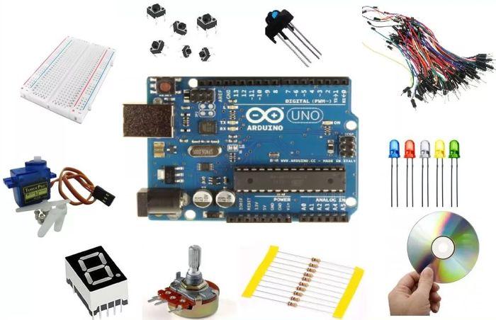 Kit Arduino Uno R3 Automação 140 pcs