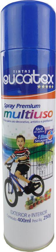 Tinta Spray Multiuso Profissional Eucatex 400ml - Azul Escuro