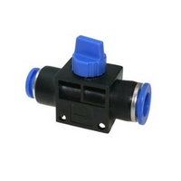 Válvula de Fechamento para Mangueira PU 8mm x 8mm - Push-in