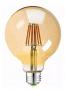 Lâmpada De Filamento Led Modelo G80 Igual Filamento Carbono