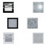 Luminária Plafon para Quarto / Cozinha / Corredor / Banheiro - Para 02 lâmpadas