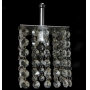 Lustre Pendente de cristal - 120 pedras legítimas
