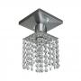Lustre plafon de cristal 120 pedras - Para lâmpadas E27 (Lâmpadas comuns)