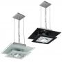 Pendente de vidro - 01 lâmpada - Pode ser usado lâmpadas de LED