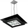 Pendente de vidro - 04 lâmpadas - Pode ser usado lâmpadas de LED