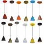 Promoção Lustre Luminária Pendente Colorido - Varias Cores