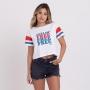 Camiseta Billabong Feminina Feeling Free