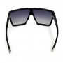Óculos Evoke Bionic Alfa A01 Black Shine Silver Gray