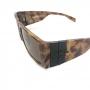 Óculos Evoke Bomber RD01 Radical Shine Black Brown