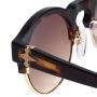 Óculos Evoke Capo III G21S Black Turtle Brown Gold