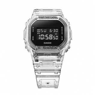 Relógio G-Shock DW-5600SKE-7DR Transparent Series