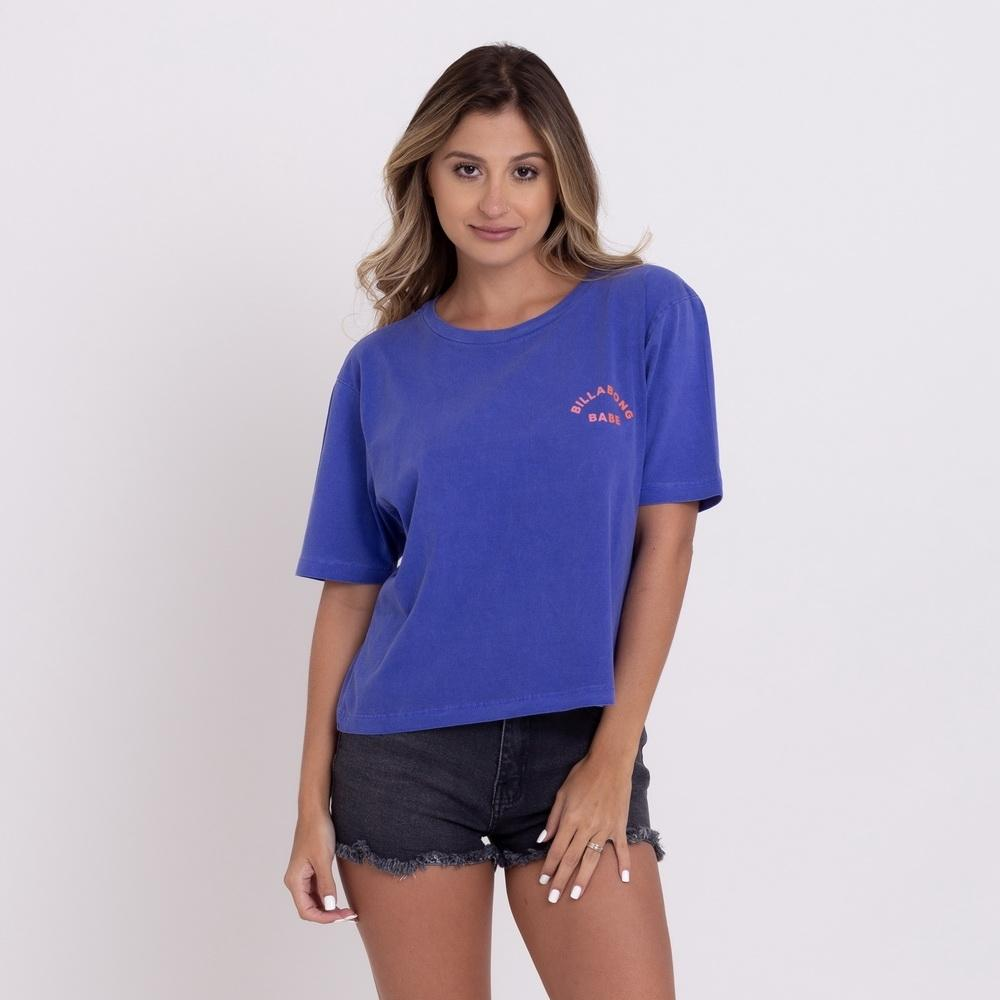 Camiseta Billabong Feminina Babe