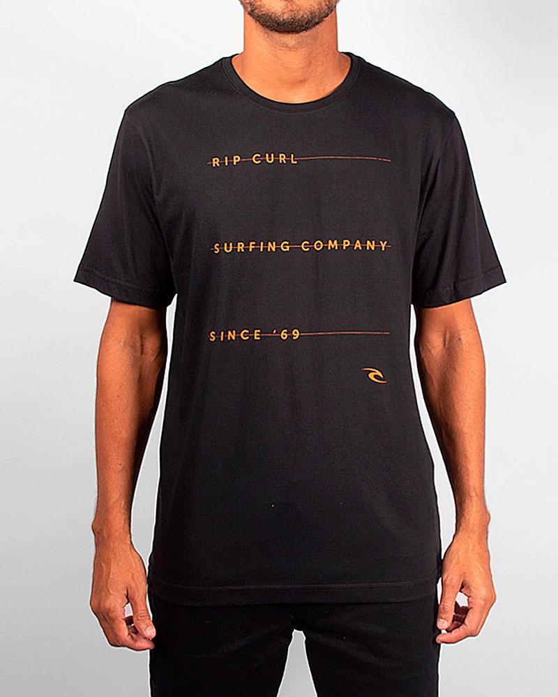 Camiseta Rip Curl Black List