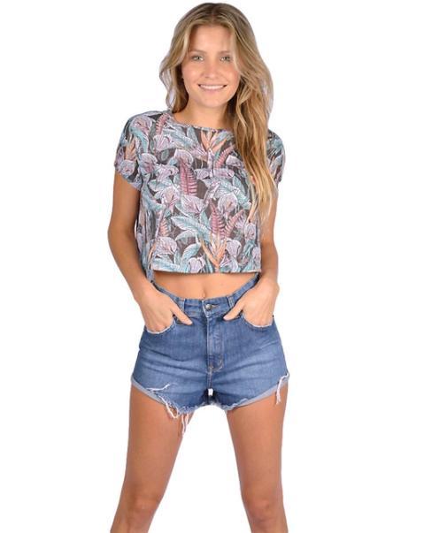 Camiseta Rip Curl Feminina Paradise Island