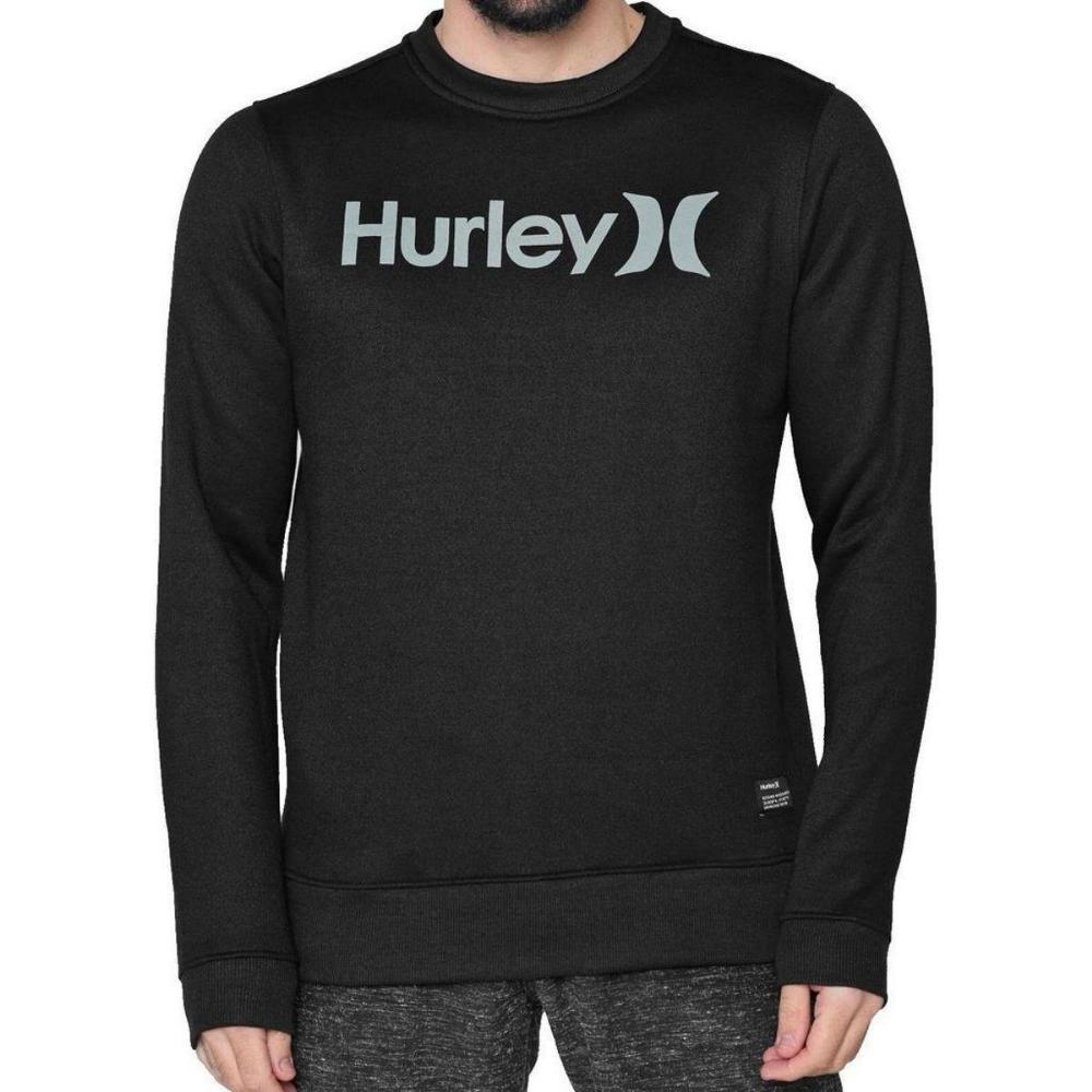 Moletom Hurley Careca O&O Solid