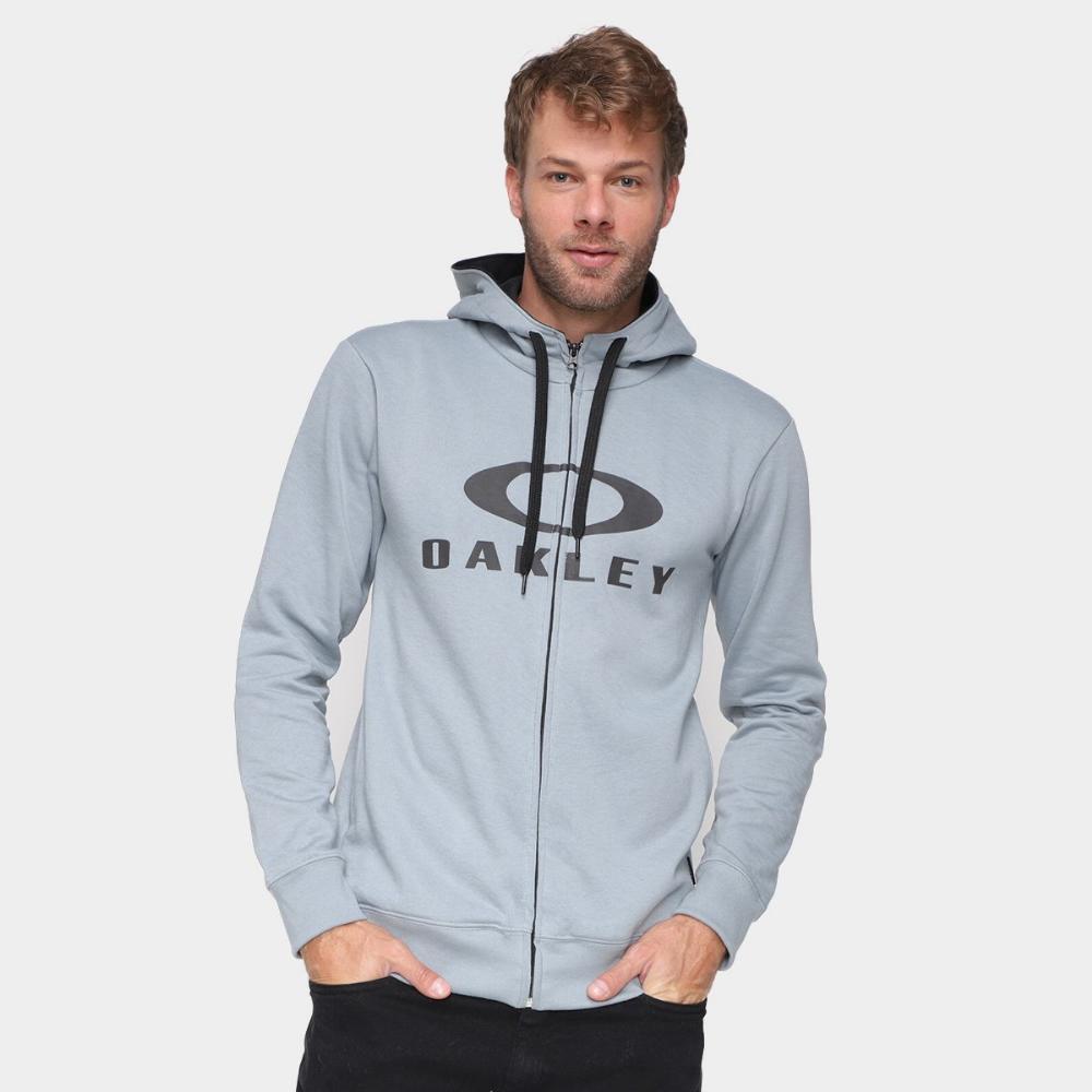 Moletom Oakley Bark F/Z Pullover