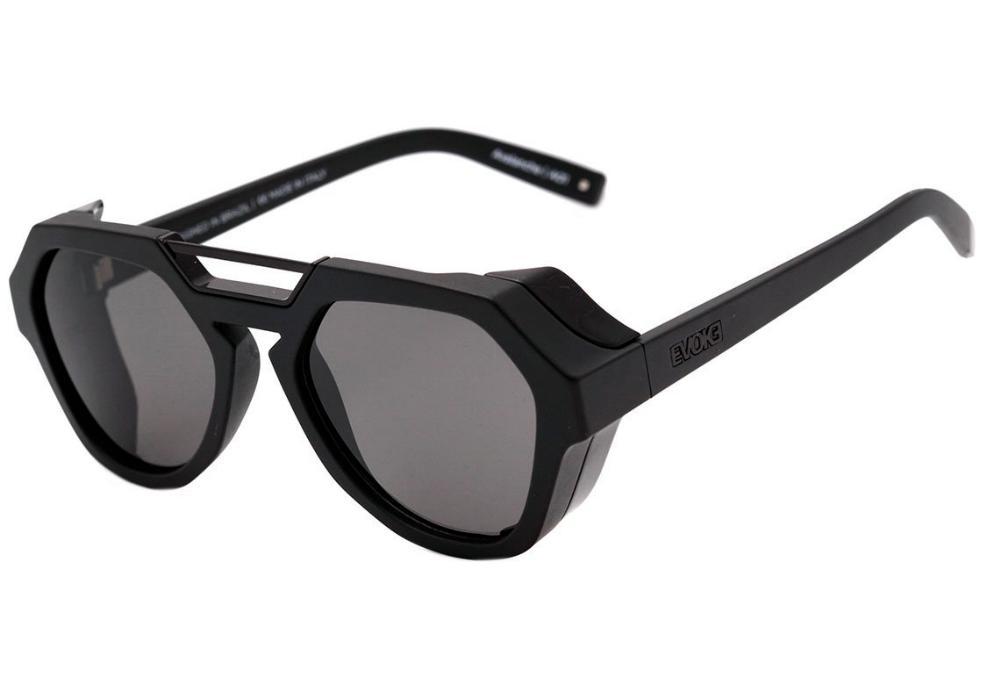 Óculos Evoke Avalanche A01 Black Matte Shine Gray