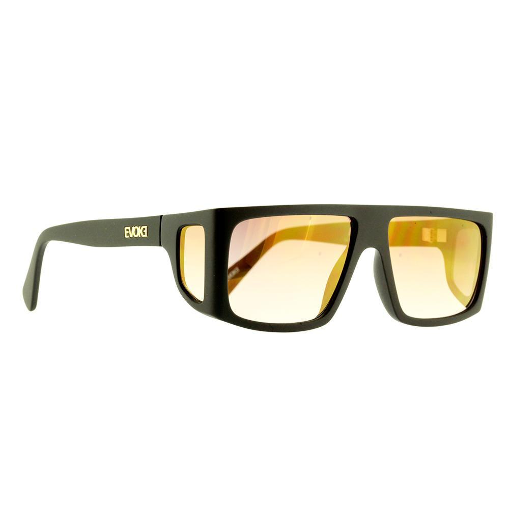 Óculos Evoke B-Side A12S Black Gold Brown Gradient