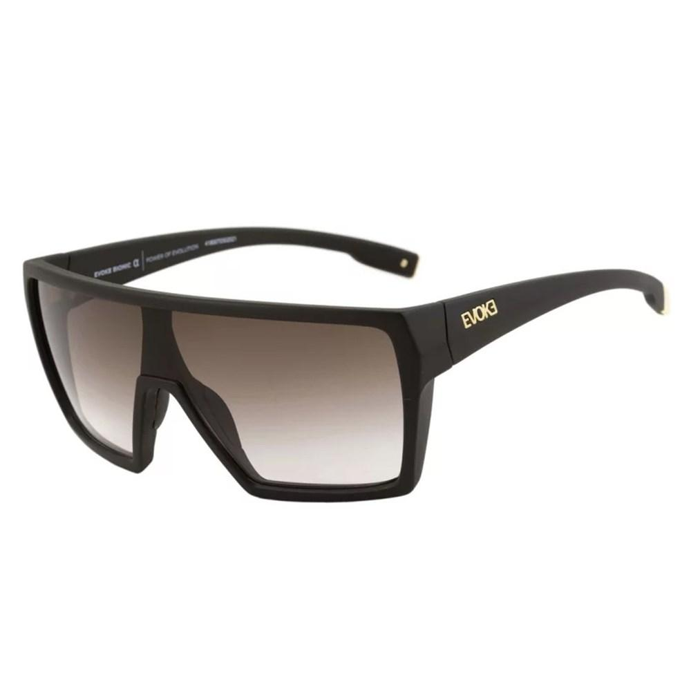 Óculos Evoke Bionic Alfa A13 Black Mate Gold Brown