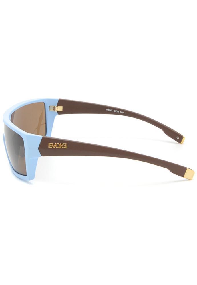 Óculos Evoke Bionic Beta D04T Blue Brown Gradient Gold