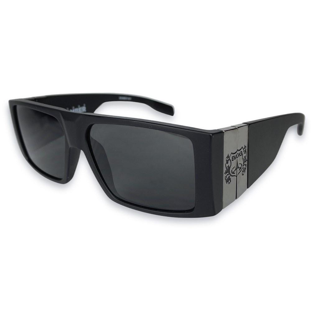 Óculos Evoke Bomber A01 Black Matte Gun Gray