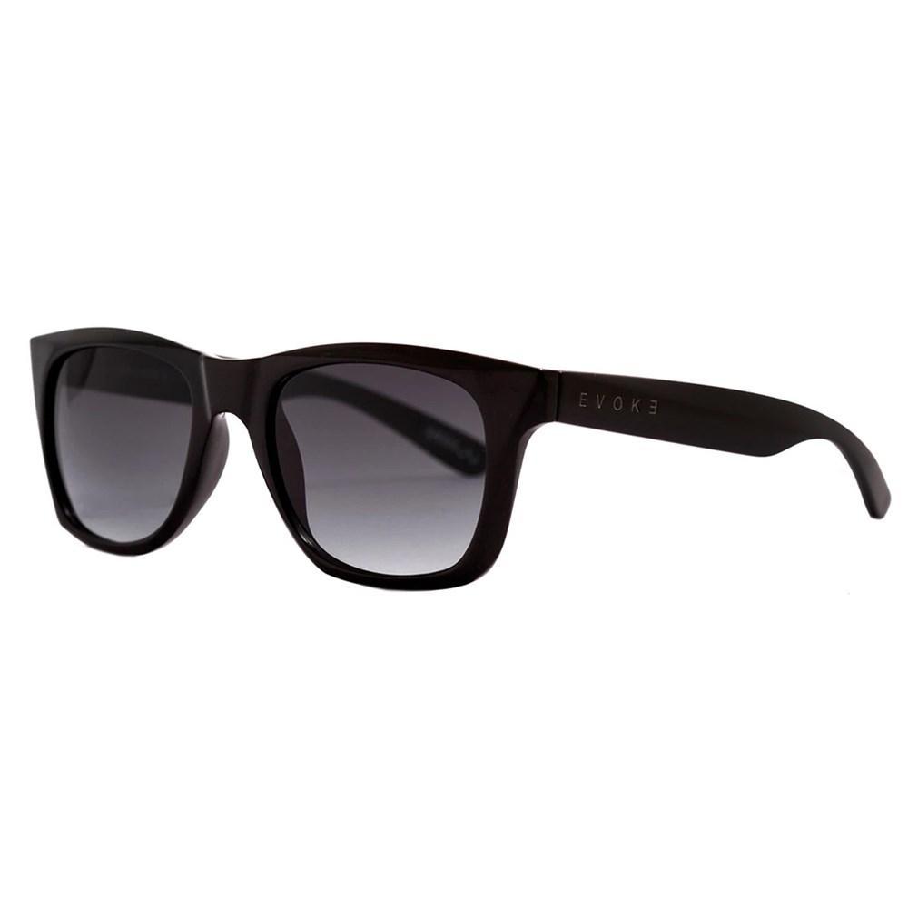 Óculos Evoke Diamong A01G Black Shine Gray Gradient