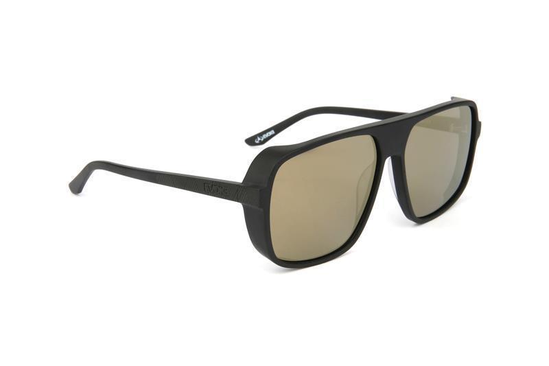 Óculos Evoke DS2 A01 Black Matte Gold Mirror