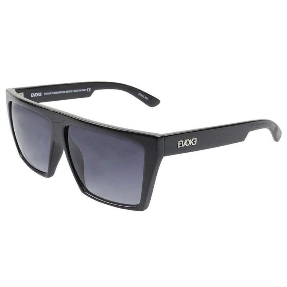 Óculos Evoke EVK 15 A01 Black Shine Silver Gradient