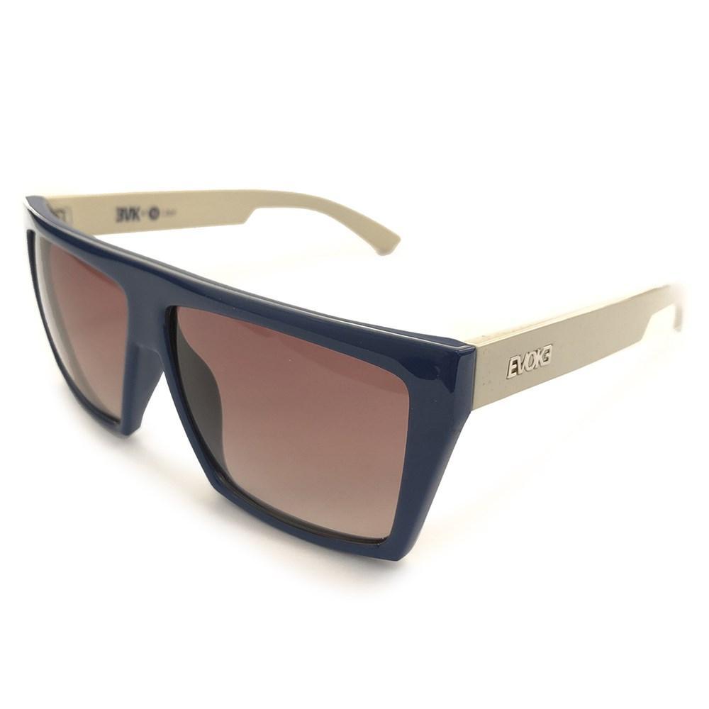 Óculos Evoke EVK 15 D01 Blue Beige Silver