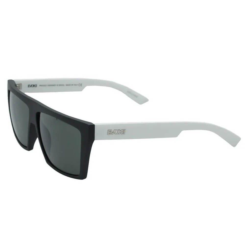 Óculos Evoke EVK 15 NA02 Black White Silver